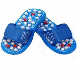 Blue Acupressure Slippers