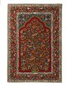 Naqash Kashmir Woolen Hand Embroidered Tree Of Life Crewel Chain Stitch Rugs