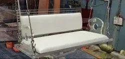 Designer 2 Seater Acrylic Swing with Cushion