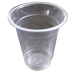 Plain Plastic Disposable Water Glass, Capacity: 350 mL