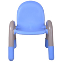 Blue Plastic Kids Chair
