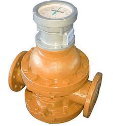 Mechanical Helical Rotor Double Rotary Liquid Flow Meter