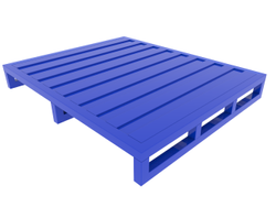 Steel Pallet - Heavy Duty - Corrugated Top