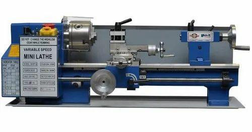 Bench Lathe Machine, Automation Grade: Semi Automatic