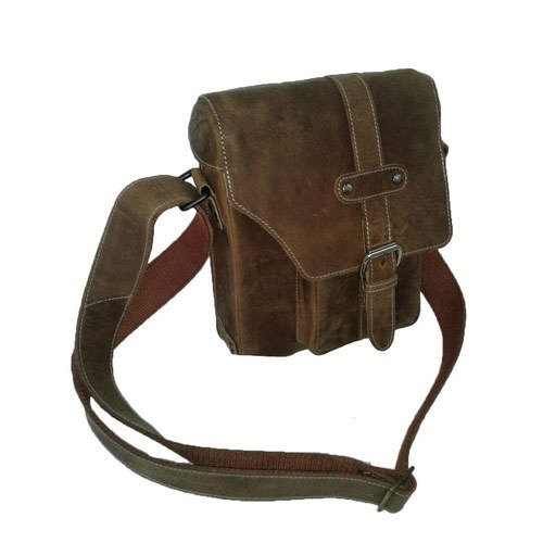 ca262b8a7aad Brown Mens Leather Sling Bag