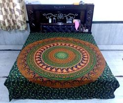 Mandala Printed Cotton Bed Sheets