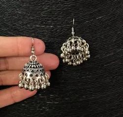 New Oxidized Jhumki