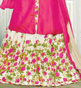 Lehenga Style Suits
