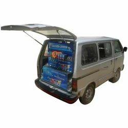 mobile van soda fountain machine
