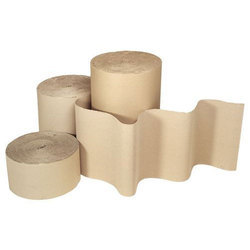 Brown Corrugated Paper Roll