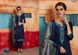 Kessi Launch Virasat Vol 5 Jam Silk With Embroidery Work Salwar Suit Supplier