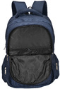Navy Blue Atomic Laptop Backpack Bag