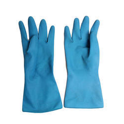 Unisex Natural Latex Gloves, Size: Free Size