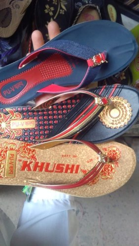 3812b45f3f6ac Women Daily Wear PU Ladies Slippers, Rs 80 /bag, Star Traders | ID ...