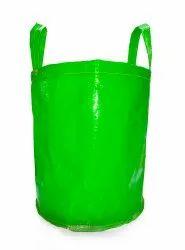 Green Vertical HDPE Grow Bags