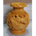 Hand Carved Decorative Flower Vase