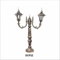 Cast Aluminium Small Lamp Pole