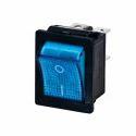 Rocker Switch Illuminated ( Blue)