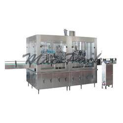 Rotary Glass Bottle Rinsing Filling Capping Machine