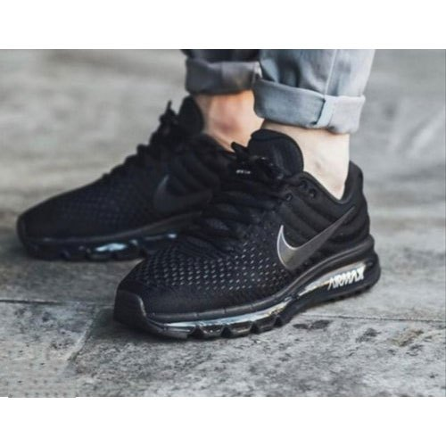 fa811b55c Rubber Mens Black Nike Running Shoes, Size: 6-10, Rs 2400 /pair | ID ...