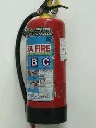 Mild Steel A Dry Powder Extinguisher, Capacity: 5Kg