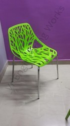 Green Restaurant Chair
