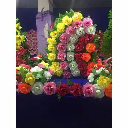 Ganpati Makhar Beautiful Decoration Flowers Rs 800 Piece Kshitij Industries Id 19888337391