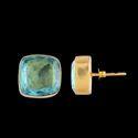 Gold Filled Minimal Tiny Studs Women Fashion Earrings