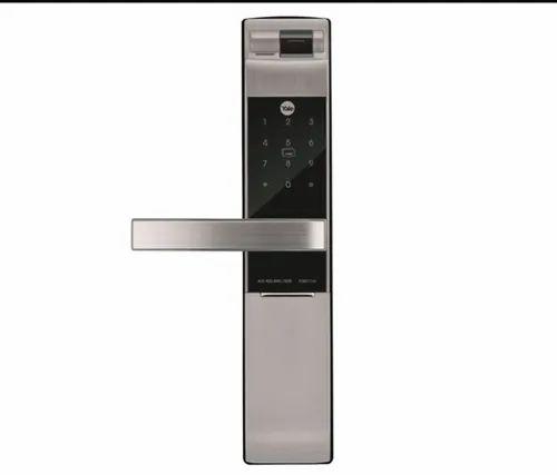 Yale YDM 7116 Silver Lock (5-1) Access Fingerprint, Pincode, RFID Card,  Keys & Bluetooth Mobile App at Rs 36000/piece | येल डिजिटल डोर लॉक्स, येल  डिजिटल दरवाज़े का लॉक - S M Creations, Mumbai | ID: 20563987891