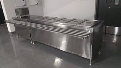Bain Marie Counter Electrical Operated