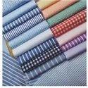 Polyester Viscose Yarn Dyed Shirting Fabric
