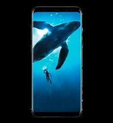 Black Galaxy S8 Mobile