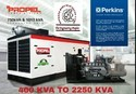 Perkins ( A Caterpillar Group Company ) Diesel Generator