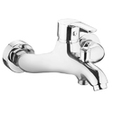 Sink Cock Swinging Spout With Wall Flange