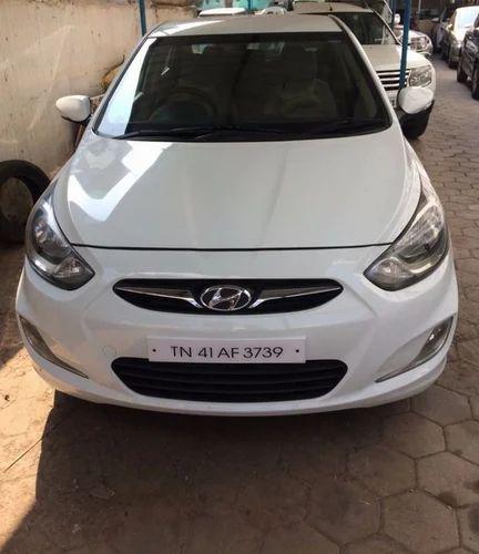 White Hyundai Verna 2011 2015 16 SX CRDi O Diesel Used