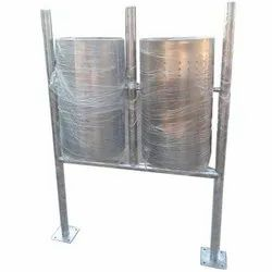 Stainless Steel Dustbin double bucket