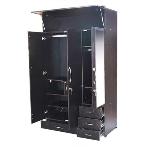 Brown Designer Steel Almirah Height 6 To 8 Feet Rs 7000