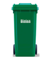 Outdoor Dustbin with Wheeled