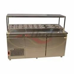 S.s. Restaurant Pizza Counter Refrigerator 500 ltr, For Commercial