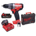 Milwaukee M18cpd-202c Brushless Compact Percussion Drill 18 V