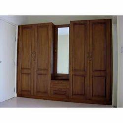 Fancy Wooden Wardrobe