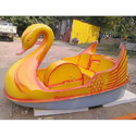 FRP Swan Model Paddle Boat