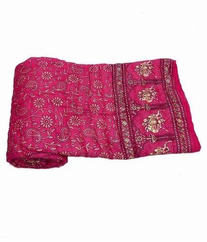 Dye Gold Print Jaipuri Quilt