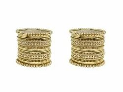 Gold Plated Bangles for Girls
