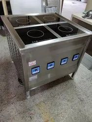 Four Zone Induction Stove