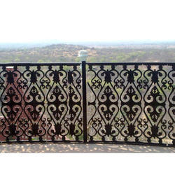 Outdoor Iron Railing