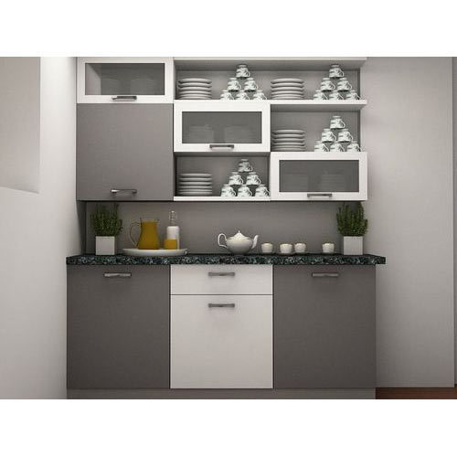 Kitchen Crockery Cabinet At Rs 1150 Square Feet क र कर य न ट Sharda Steel House Pune Id 16796482391