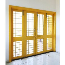 Metal French Designer Door