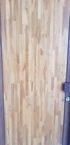 Teak Wood Interior Plywood Door