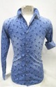 Printed Mens Denim Shirts